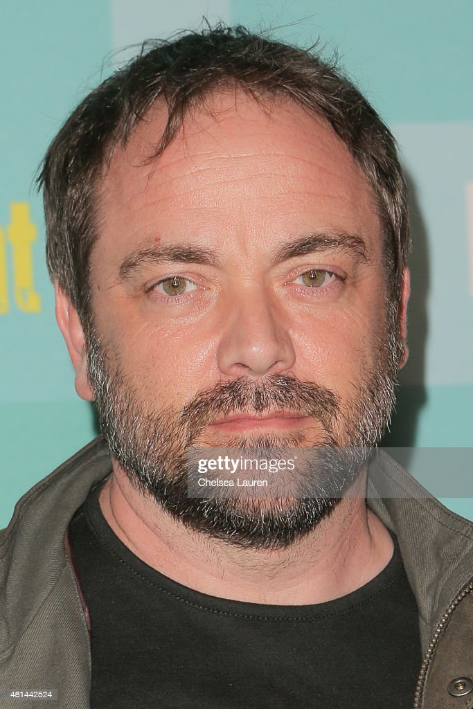 Actor Mark Sheppard arrives at the Entertainment Weekly celebration at Float at Hard Rock Hotel San Diego on July 11, 2015 in San Diego, California.
