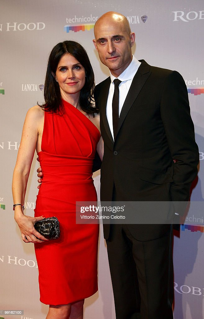 Actor Mark Strong and wife attend the 'Robin Hood' After Party at the Hotel Majestic during the 63rd Annual Cannes International Film Festival on May 12, 2010 in Cannes, France.