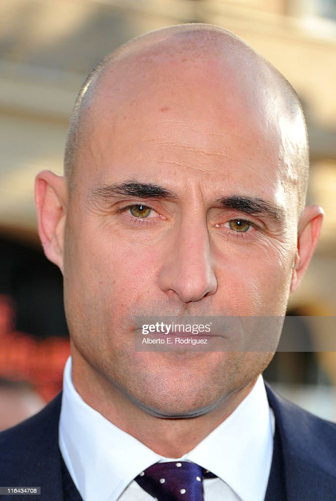 Actor Mark Strong arrives at the premiere of Warner Bros. Pictures' 'Green Lantern' held at Grauman's Chinese Theatre on June 15, 2011 in Hollywood, California.