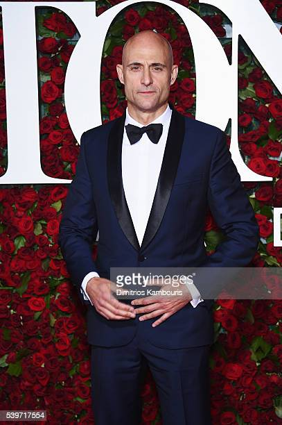Actor Mark Strong attends the 70th Annual Tony Awards at The Beacon Theatre on June 12 2016 in New York City