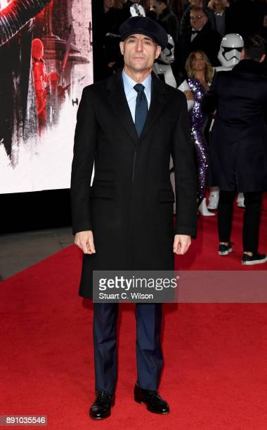 Actor Mark Strong attends the European Premiere of 'Star Wars The Last Jedi' at Royal Albert Hall on December 12 2017 in London England