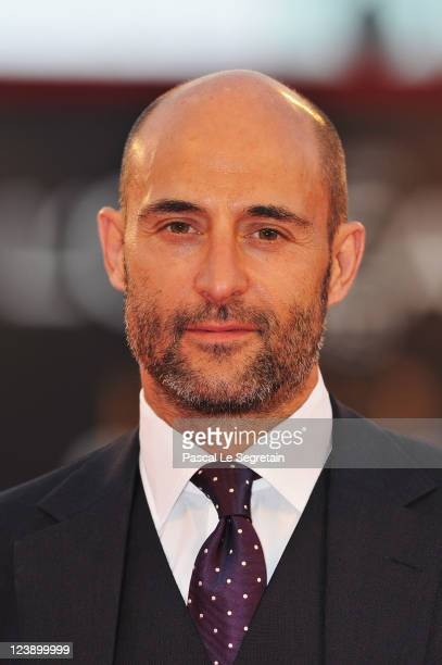 Actor Mark Strong attends the Tinker Tailor Soldier Spy premiere at the Palazzo del Cinema during the 68th Venice Film Festival on September 5 2011...