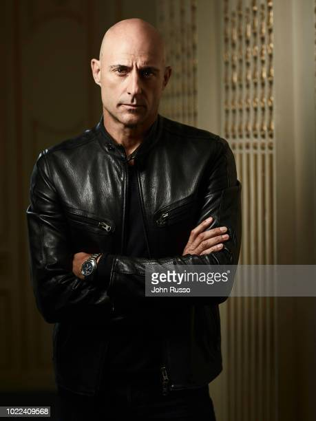 Actor Mark Strong is photographed for 20th Century Fox on July 13 2017 in San Diego California
