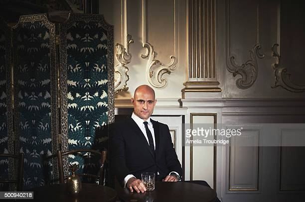 Actor Mark Strong is photographed for ES magazine on September 8 2014 in London England
