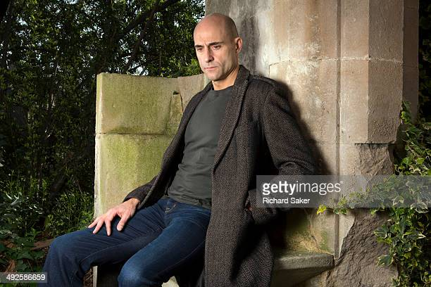 Actor Mark Strong is photographed for the Observer on March 6 2014 in London England