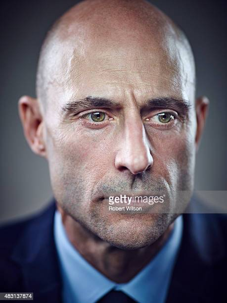 Actor Mark Strong is photographed for the Times on March 13 2015 in London England