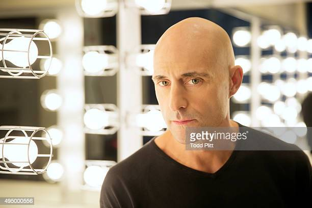 Actor Mark Strong is photographed for USA Today on October 6 2015 in New York City