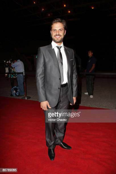 Actor Mark Tacher attends the 2009 Ariel 51 awards at Auditorio Nacional on March 31 2009 in Mexico City