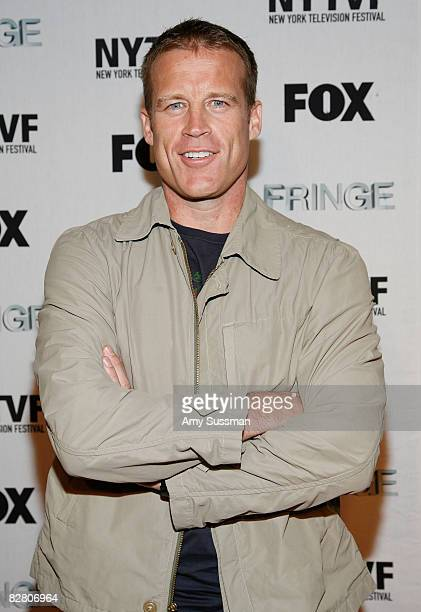 Actor Mark Valley attends the premiere of Fringe's second episode at The New York Television Festival held at New World Stages on September 13 2008