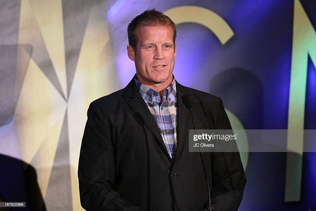 Actor Mark Valley speaks during the 17th Annual Prism Awards at Beverly Hills Hotel on April 25, 2013 in Beverly Hills, California.