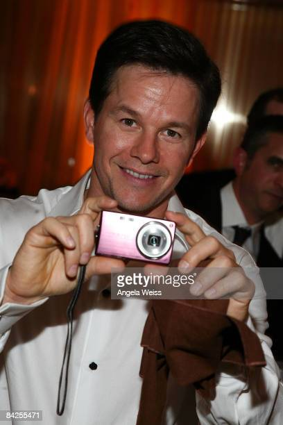 Actor Mark Wahlberg arrives at the official HBO after party for the 66th Annual Golden Globe Awards held at Circa 55 Restaurant Poolside at the...