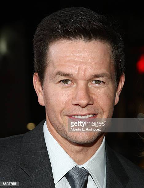 Actor Mark Wahlberg arrives at the premiere of 20th Century Fox's 'Max Payne' held at Mann's Chinese Theater on October 13 2008 in Los Angeles...