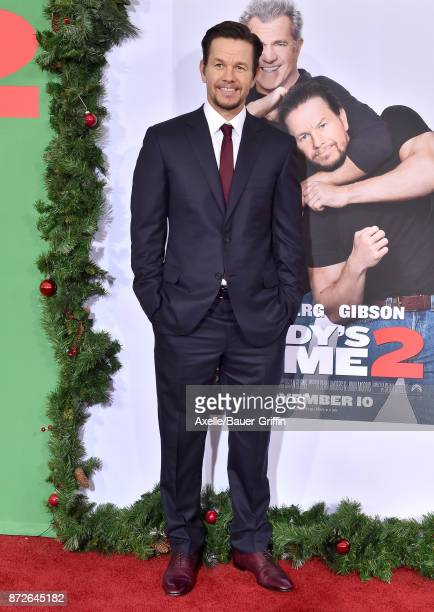 Actor Mark Wahlberg arrives at the premiere of Paramount Pictures' 'Daddy's Home 2' at Regency Village Theatre on November 5 2017 in Westwood...