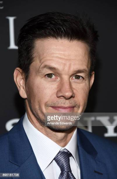 Actor Mark Wahlberg arrives at the premiere of Sony Pictures Entertainment's 'All The Money In The World' at the Samuel Goldwyn Theater on December...
