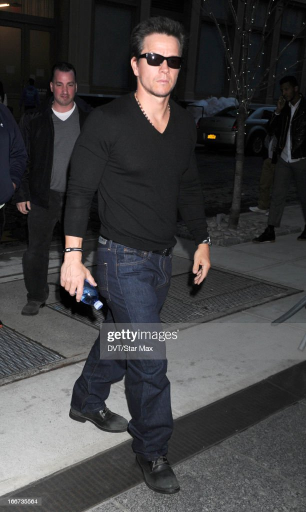 Actor Mark Wahlberg as seen on April 15, 2013 in New York City.