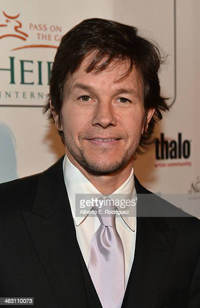 Actor Mark Wahlberg attends 19th Annual Critics' Choice Movie Awards at Barker Hangar on January 16 2014 in Santa Monica California