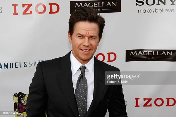 Actor Mark Wahlberg attends a screening of 'The Other Guys' at Alma Nove on August 3 2010 in Hingham Massachusetts