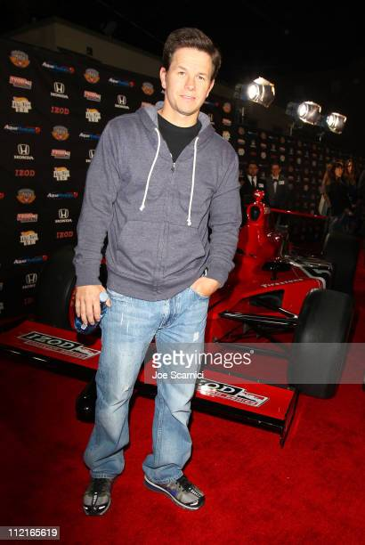 Actor Mark Wahlberg attends an IZOD party to celebrate the 100th Anniversary Indianapolis 500 at The Colony on April 13, 2011 in Los Angeles,...