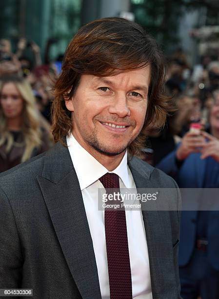 Actor Mark Wahlberg attends the Deepwater Horizon premiere during the 2016 Toronto International Film Festival at Roy Thomson Hall on September 13...