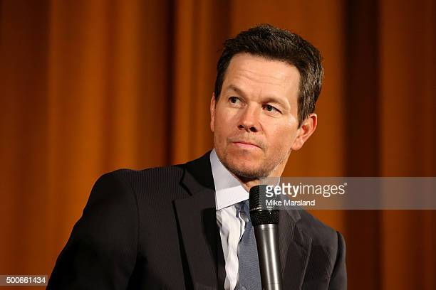 """Actor Mark Wahlberg attends the London Premiere of """"Daddy's Home"""" at Vue West End on December 9, 2015 in London, United Kingdom."""