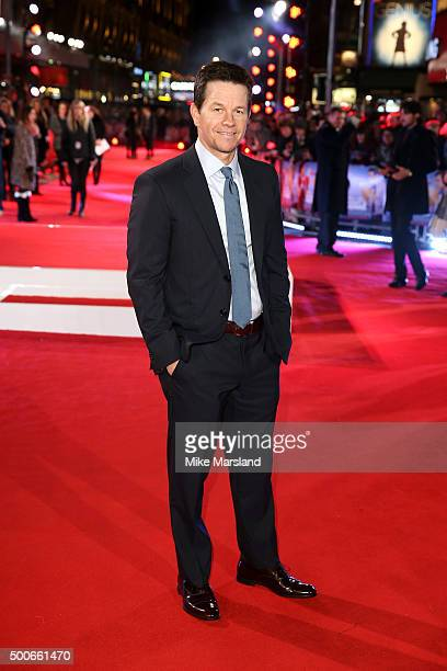 Actor Mark Wahlberg attends the London Premiere of 'Daddy's Home' at Vue West End on December 9 2015 in London United Kingdom