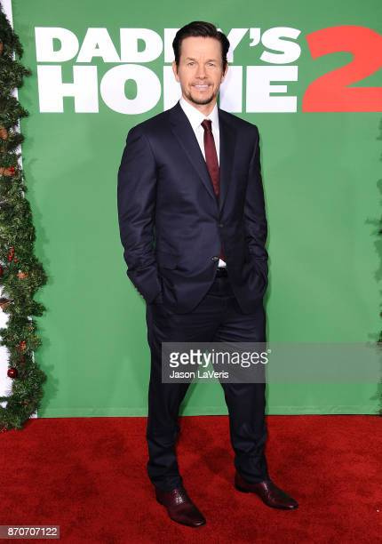 Actor Mark Wahlberg attends the premiere of 'Daddy's Home 2' at Regency Village Theatre on November 5 2017 in Westwood California