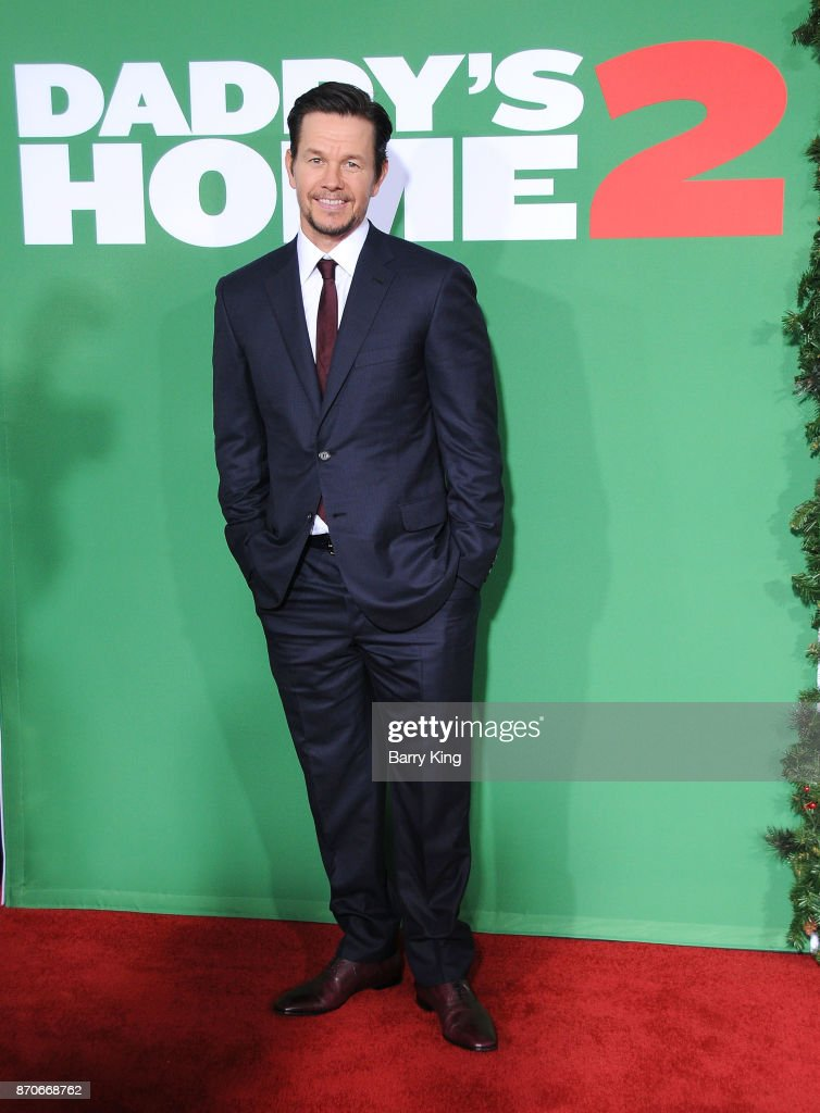 Actor Mark Wahlberg attends the premiere of Paramount Pictures' 'Daddy's Home 2' at Regency Village Theatre on November 5, 2017 in Westwood, California.