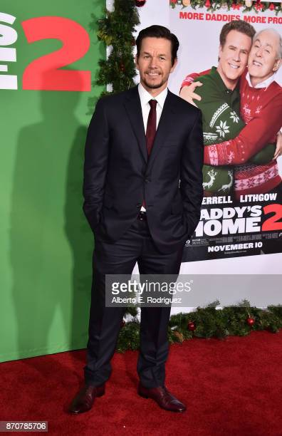 Actor Mark Wahlberg attends the premiere of Paramount Pictures' 'Daddy's Home 2' at The Regency Village Theatre on November 5 2017 in Westwood...