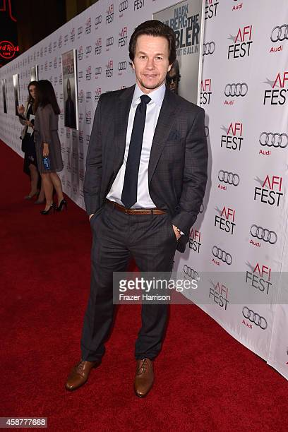 Actor Mark Wahlberg attends the screening of 'The Gambler' during the AFI FEST 2014 presented by Audi at Dolby Theatre on November 10 2014 in...