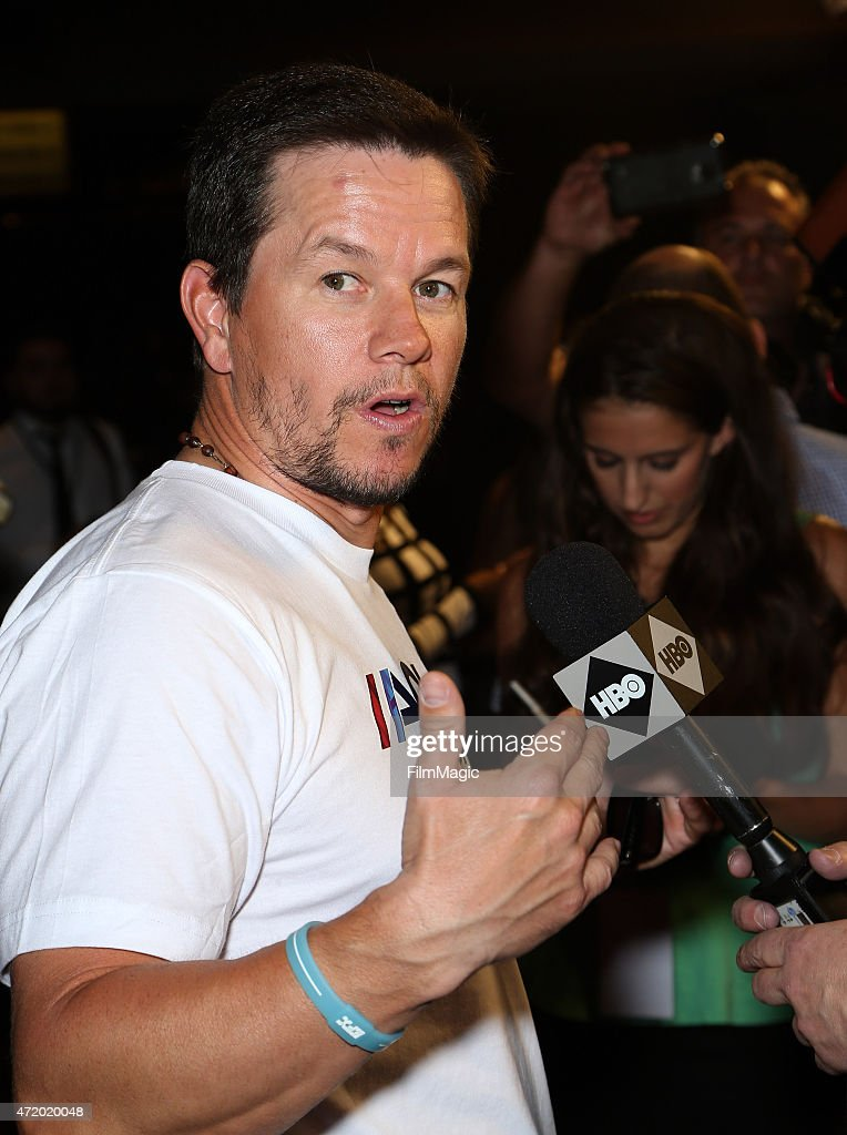 Actor Mark Wahlberg attends the SHOWTIME And HBO VIP Pre-Fight Party for 'Mayweather VS Pacquiao'at MGM Grand Hotel & Casino at on May 2, 2015 in Las Vegas, Nevada.