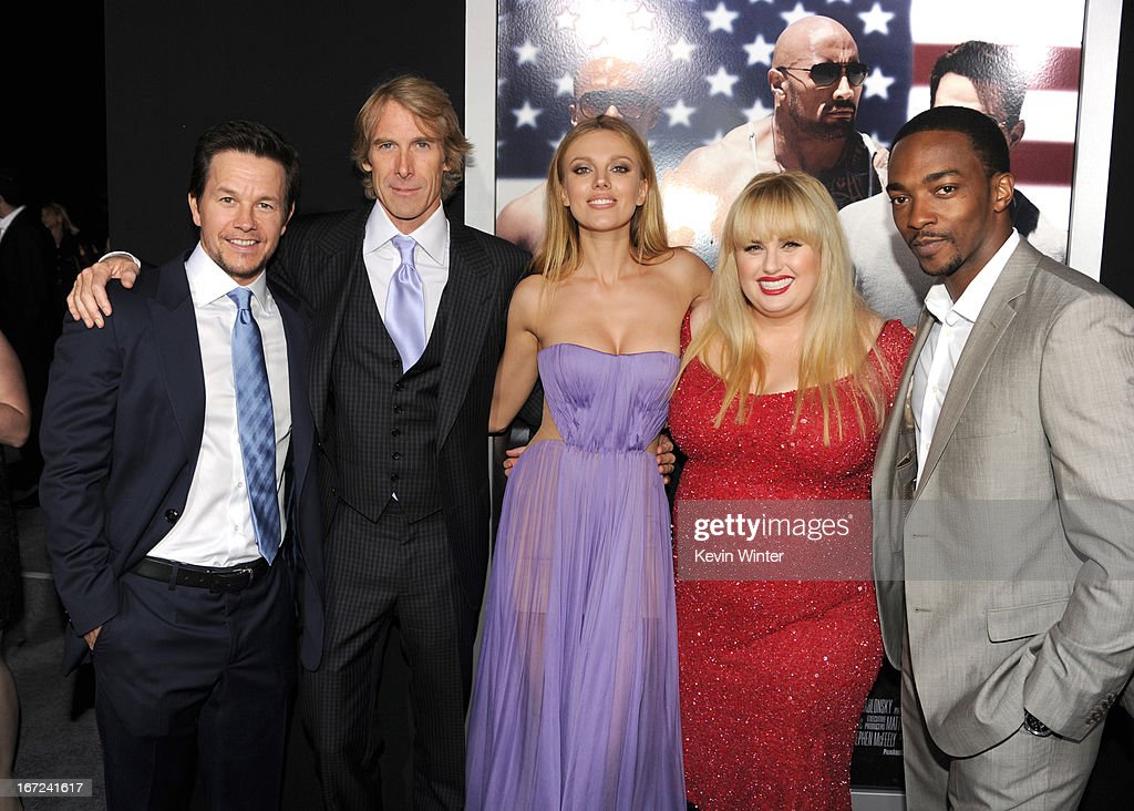 Premiere Of Paramount Pictures' 'Pain & Gain' - Red Carpet : News Photo