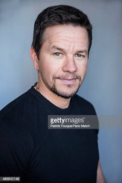 Actor Mark Wahlberg is photographed for Paris Match on June 8 2015 in Paris France