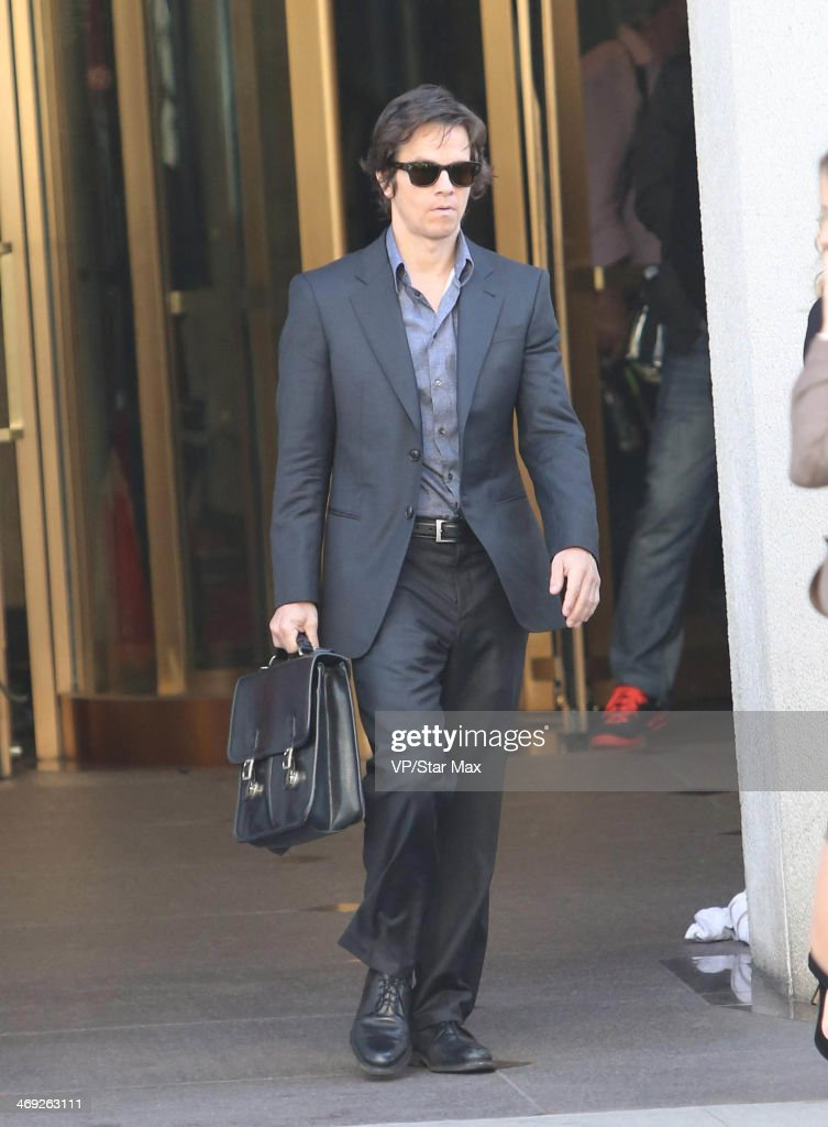 Actor Mark Wahlberg is seen on February 13, 2014 in Los Angeles, California.