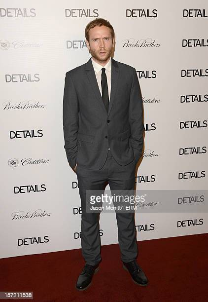 Actor Mark Webber attends the DETAILS Hollywood Mavericks Party held at Soho House on November 29 2012 in West Hollywood California