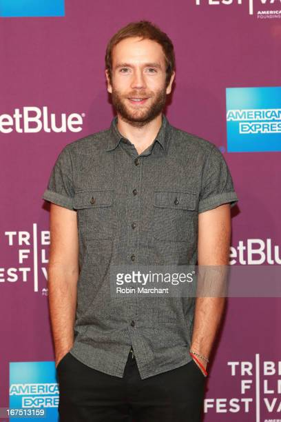 Actor Mark Webber attends The Motivation World Premiere during the 2013 Tribeca Film Festival on April 25 2013 in New York City