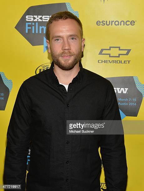 Actor Mark Webber attends the premiere of 13 Sins during the 2014 SXSW Music Film Interactive Festival at the Stateside Theater on March 7 2014 in...