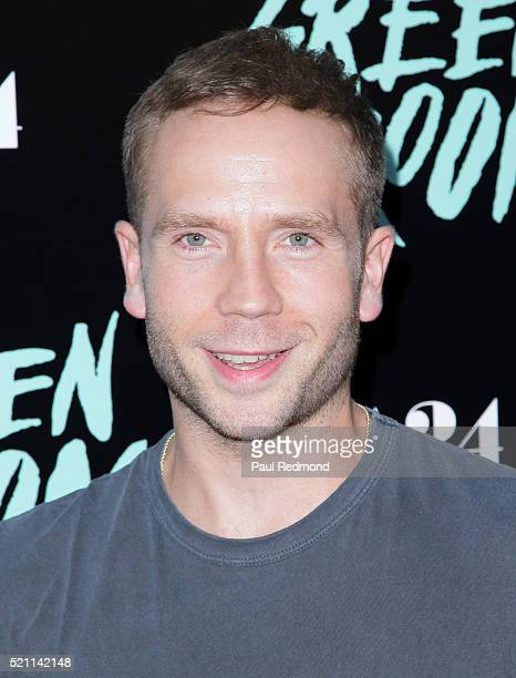 Actor Mark Webber attends the Premiere of A24's Green Room at ArcLight Hollywood on April 13 2016 in Hollywood California