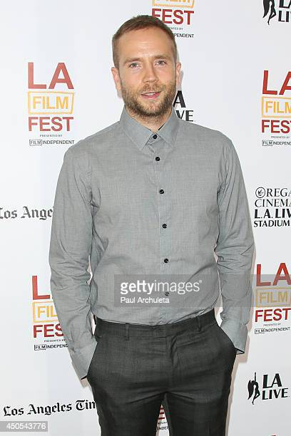 Actor Mark Webber attends the premiere of The Ever After at the 2014 Los Angeles Film Festival at Regal Cinemas LA Live on June 12 2014 in Los...
