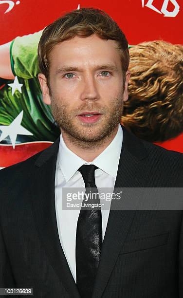 Actor Mark Webber attends the premiere of Universal Pictures' Scott Pilgrim vs the World at Grauman's Chinese Theatre on July 27 2010 in Hollywood...