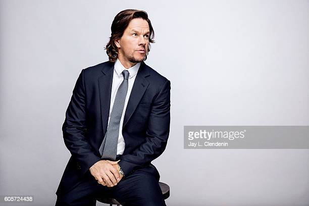 Actor Mark Whalberg of 'Deep Water Horizon' poses for a portraits at the Toronto International Film Festival for Los Angeles Times on September 13...