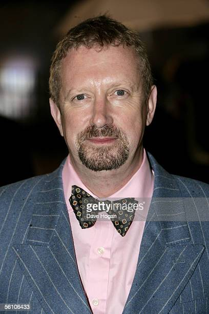Actor Mark Williams arrives at the World Premiere of 'Harry Potter And The Goblet Of Fire' at the Odeon Leicester Square on November 6 2005 in London...