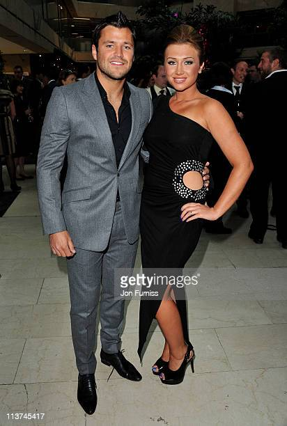 Actor Mark Wright andactress Lauren Goodger attend the nominees party for 'The Philips British Academy Television and British Academy Television...