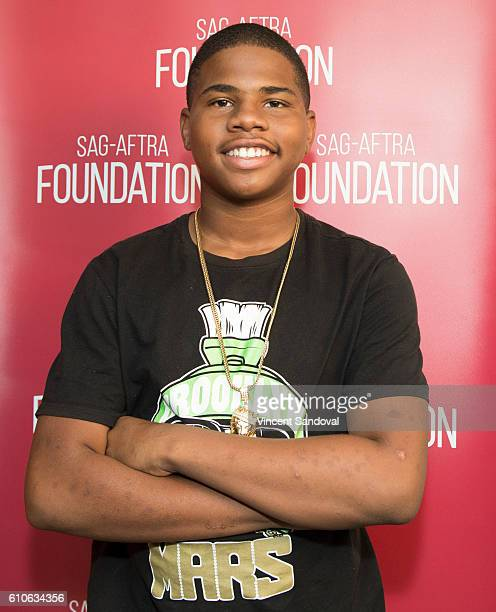 Actor Markees Christmas attends SAGAFTRA Foundation Conversations with 'Morris From America' at SAGAFTRA Foundation on September 26 2016 in Los...