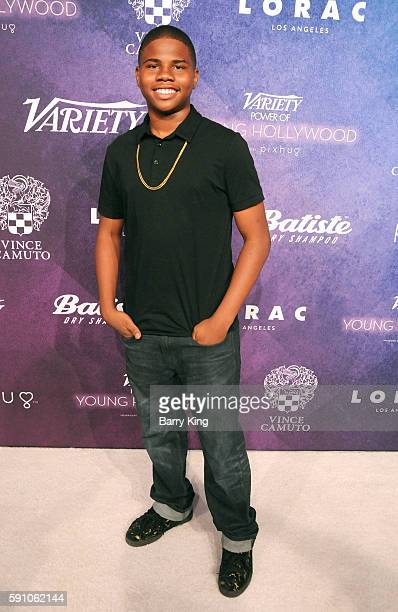 Actor Markees Christmas attends Variety's Power of Young Hollywood event presented by Pixhug with platinum sponsor Vince Camuto at NeueHouse...