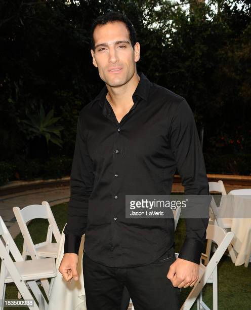 Actor Marko Zaror attends the 'Machete Kills' press conference at Four Seasons Hotel Los Angeles at Beverly Hills on October 6 2013 in Beverly Hills...