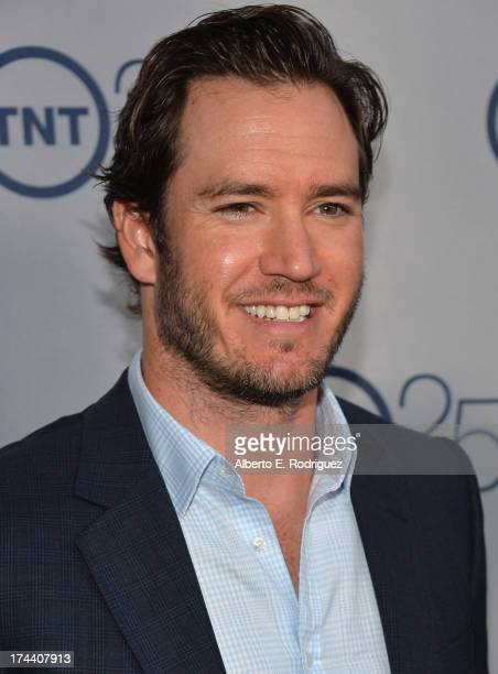 Actor MarkPaul Gosselaar arrives to TNT's 25th Anniversary Party at The Beverly Hilton Hotel on July 24 2013 in Beverly Hills California