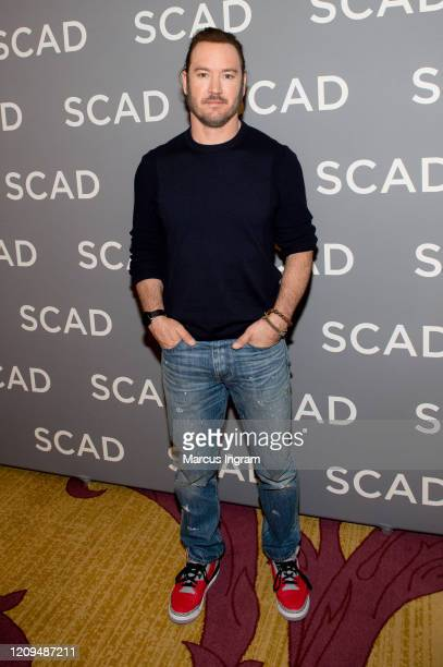 Actor MarkPaul Gosselaar attends the SCAD 8th annual aTVFest Day 3 press junket at Four Season Hotel Atlanta on February 29 2020 in Atlanta Georgia