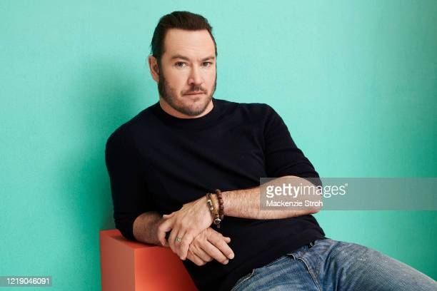 Actor Mark-Paul Gosselaar is photographed for Entertainment Weekly Magazine on February 27, 2020 at Savannah College of Art and Design in Savannah,...