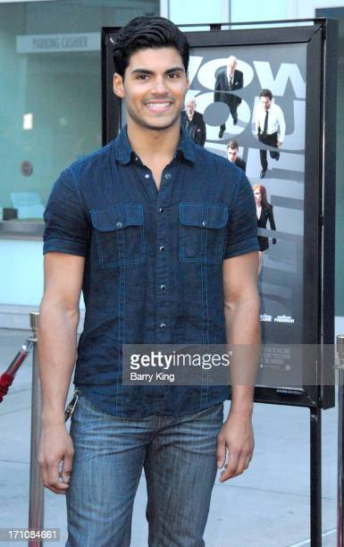 Actor Marlon Aquino arrives at the Los Angeles special screening of 'Now You See Me' on May 23 2013 at ArcLight Hollywood in Hollywood California