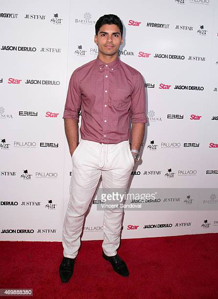 Actor Marlon Aquino attends Hollywood Rocks Presents Jason Derulo listening party for Everything Is 4 at The Argyle on April 15 2015 in Hollywood...